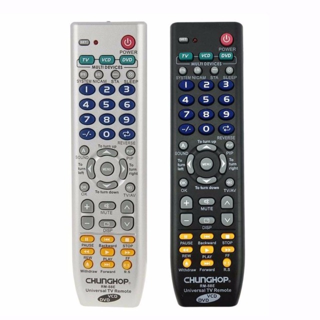 US $3 19 |Universal Remote Control 1PCS RM 88E TV/VCD/DVD 3 in 1 USE FOR  SONY SAMSUNG TOSHIBA PANASONIC SANYO SHARP LG AIWA 3D SMART TV-in Remote