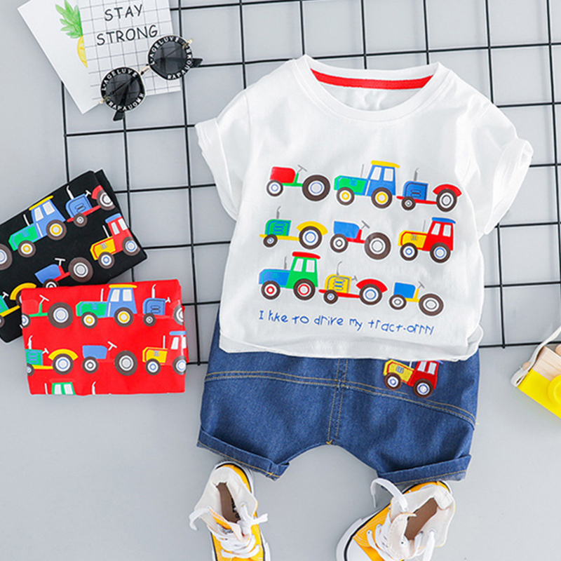 Shorts Pants Clothes Outfits Set Summer 2PCS Kids Baby Girl Cute Bow Vest Tops