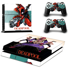 DEADPOOL Sticker for PS4 PlayStation 4 Console and 2 controller skins
