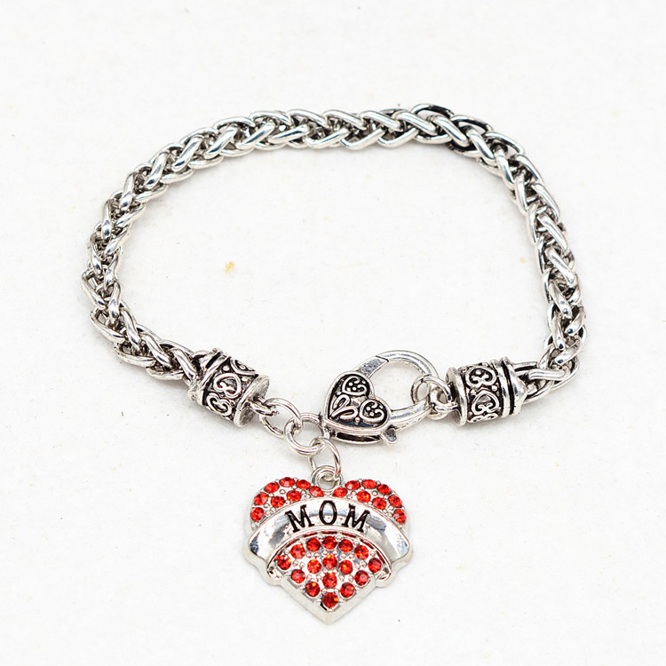 HTB1l9r2PFXXXXasXVXXq6xXFXXXe - Bracelet with Heart Shaped Charm 'Mom'