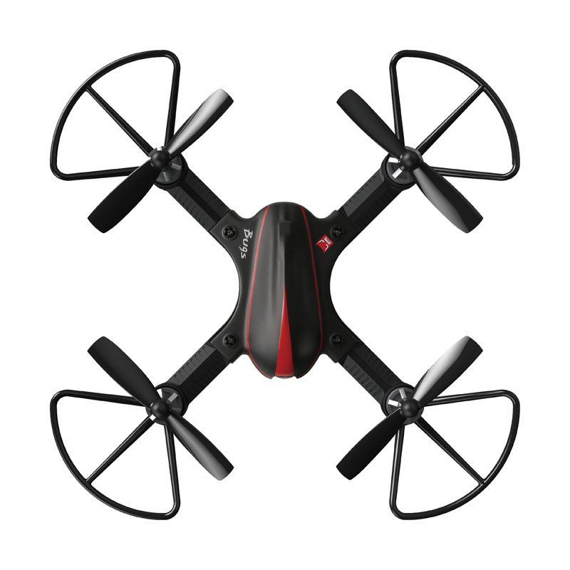 MJX B3 RC Mini 2.4GH 4CH Borstelloze 1306 2750KV Motor Drone Hoek en Acro Modus Flip & Roll RC Quadcopter met LED Licht - 2