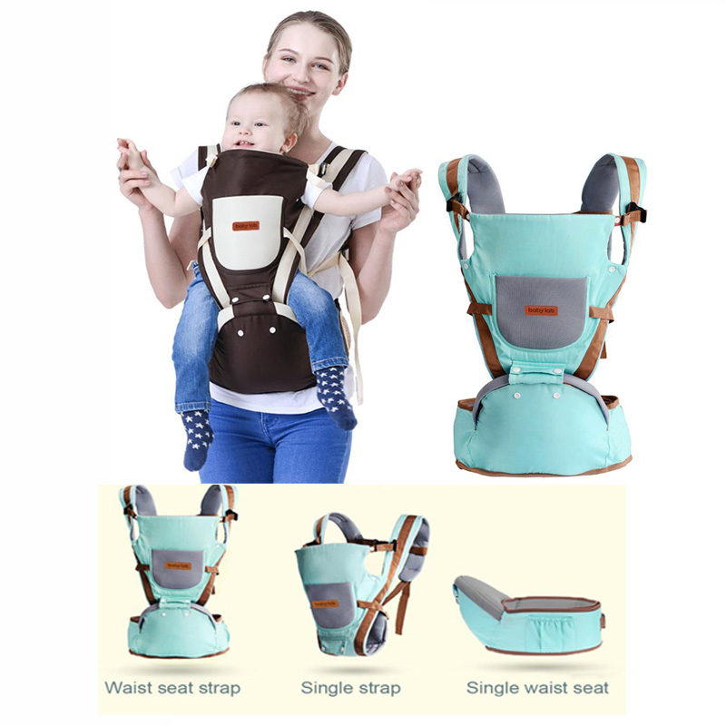 цена на Baby Carrier Baby Kangaroo Bag Breathable Front Facing Baby Carrier 4 in 1 Infant backpack Pouch Wrap baby Sling for newborns