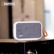 Remax Ткань Bluetooth Динамик RB-M16 Портативный Bluetooth Динамик 4.0 Беспроводной Динамик для iphone iPad