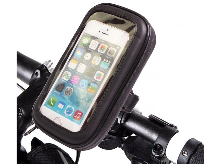 Bicicleta Soporte para Teléfono Móvil Caja De La Pantalla Táctil A Prueba de agu