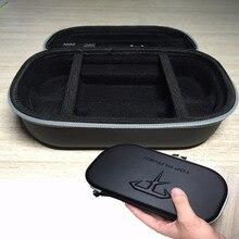 حقيبة حمل متينة سوداء من XBERSTAR مزودة بغطاء حقيبة لسوني PS Vita 1000/2000 حقيبة يد ملحقات ألعاب بأكمام