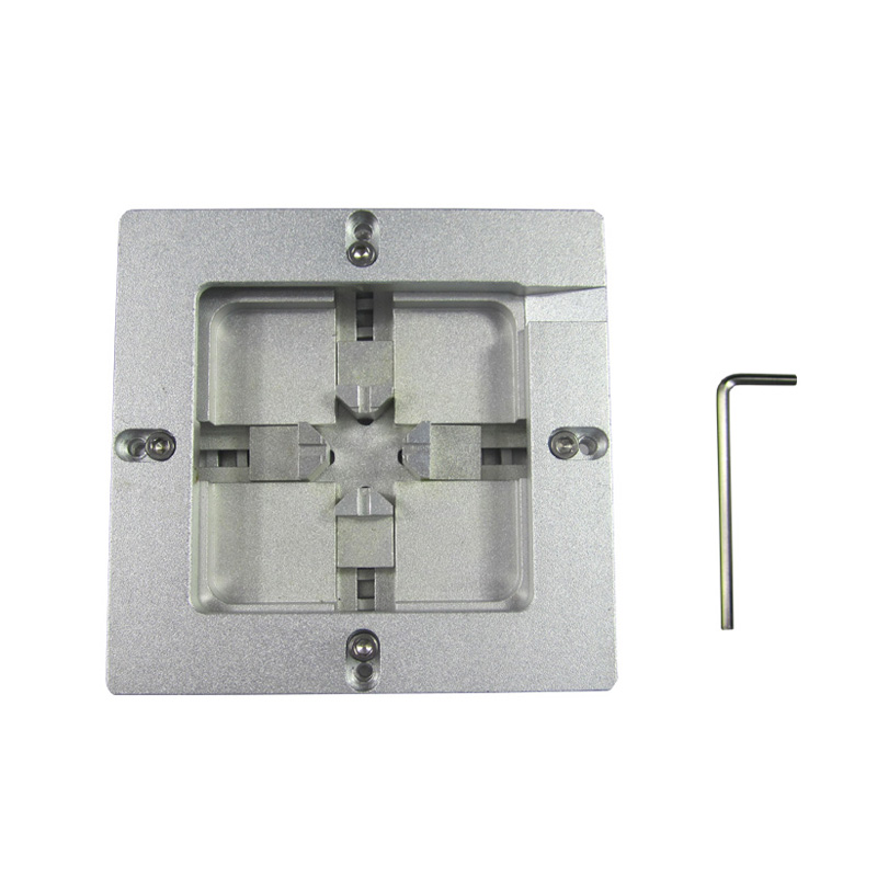 80mm 90mm stencils fixture jig auto align bga reball reballing station RD980 bga reballing kit bga reball station with handle 90mm x 90mm stencils template holder jig