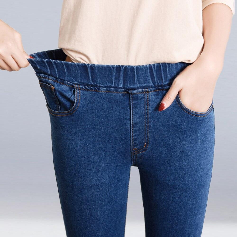 New Fashion 2020 Brand Women Casual Jeans Plus Size S-6XL Stretch Denim Pencil Pants High Waist Skinny Jeans Long Trousers