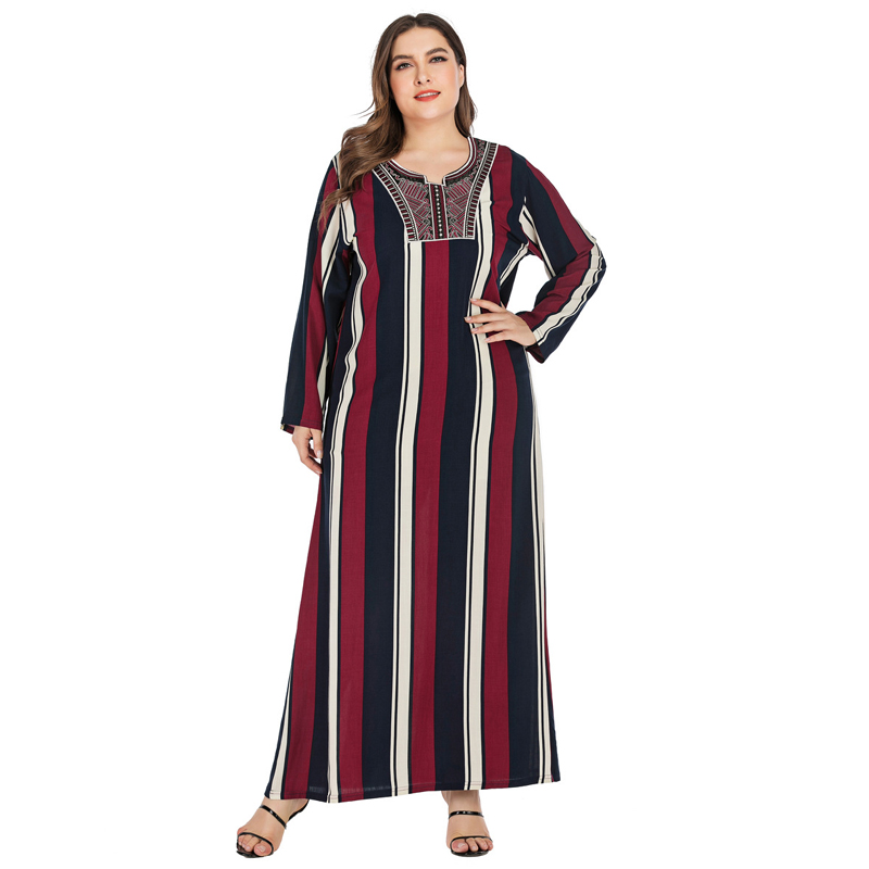 Vestidos Muslim Abaya Dubai Kaftan Moroccan Dress Women Arabic Turkey Caftan Marocain Islamic Pakistani Sukienka Maxi Long Dress image
