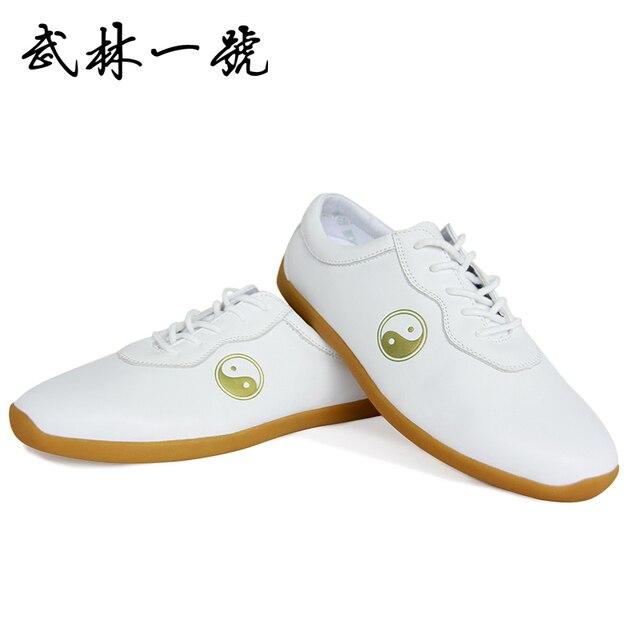 Натуральная кожа Тай-Чи обувь Свет Тай-Чи боевых искусств обувь Тонкие подошвы обувь мягкий Термопластичный эластомер подошвы Примечание размер