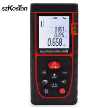 цена на 40M 60M Range Finder Laser Distance Meter Rangefinder Electronic Tape Laser Measuring Tape Measurer Laser Ruler Roulette Tool