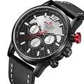 ARMIFORCE Männer Military Sport Uhr Luxus Marke Mens Fashion Leder Quarz Uhren Mann Datum Chronograph Uhr Relogio Masculino