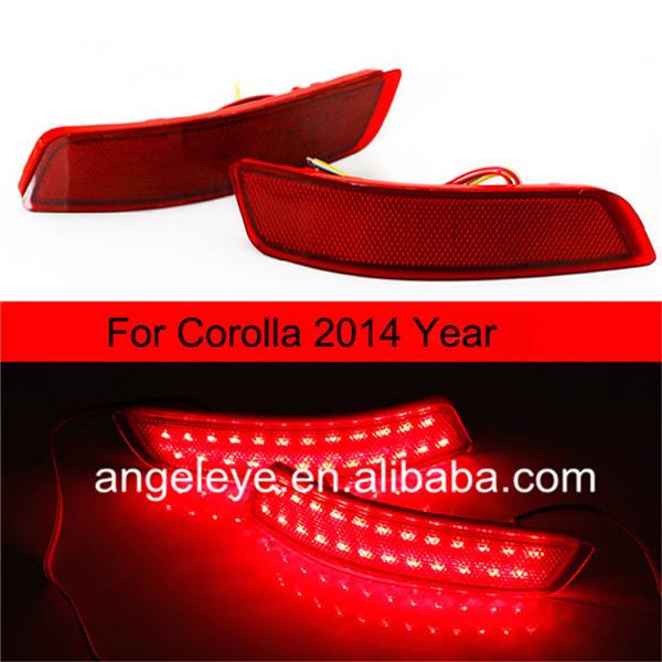 For TOYOTA 2014 year for Corolla LED Bumper Light 2014 2015 year camry v55 led bumper light for toyota v1