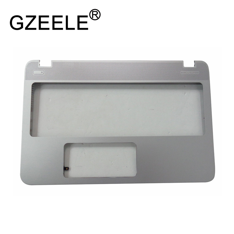 GZEELE New For HP ENVY15-Q envy 15-Q 15T-Q Palmrest C Shell Top Case Cover 774153-001 bezel upper topcase silver q and q vq90 001