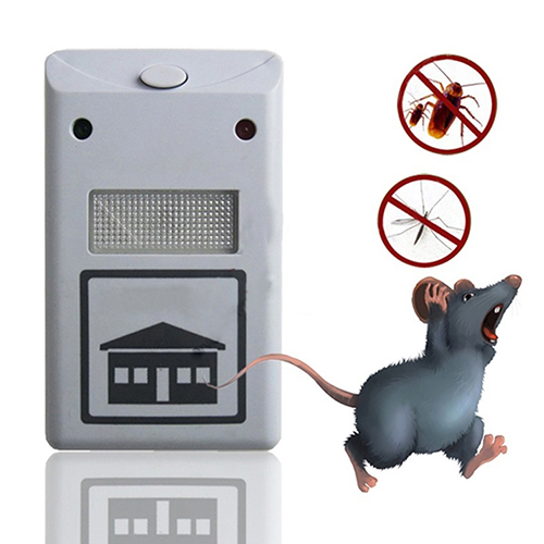 EU/US Plug Ultrasonic Electronic Rat Mouse Repellent Anti Mosquito Rodent Pest Bug Mice Reject Mole Repeller Drop Shipping