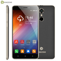 Original 3G KINGZONE S3 1GB 16GB Fingerprint Identification Shockproof 5 0 Android 6 0 MTK6580A Quad