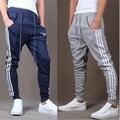 Pantalon homme roupas 2016 melhor boca Pequena Haren Lápis calças pantalon homme yeezy impulso corredores nmd marca roupas gymshark