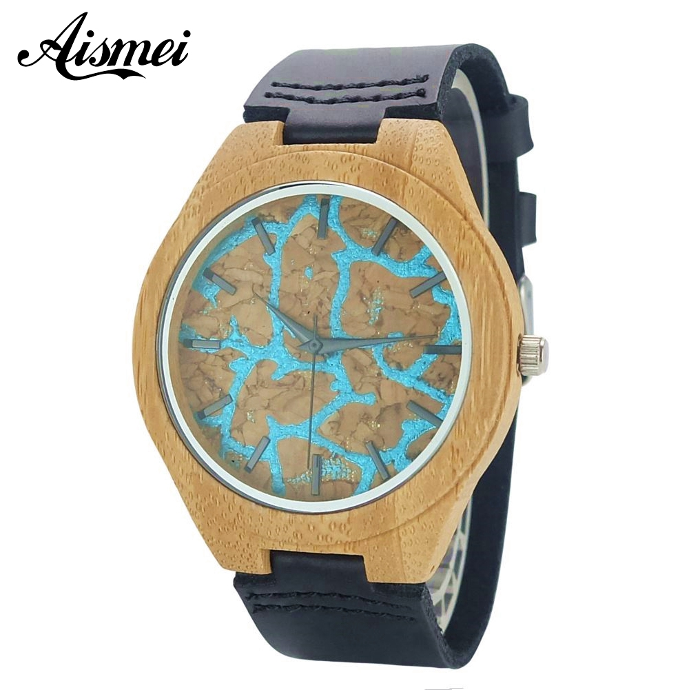 Top Brand Luxury Wood Men Watch With Leather Strap Fashion Wooden Quartz Watches unique design Mens Wristwatch Relogio Masculino fashion casual style mens dress wooden wristwatch for men watch wood top brand luxury antique wooden sandal men s quartz watches