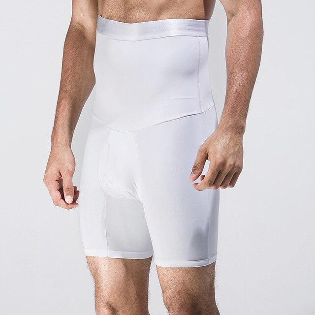 Hot Men High Waist Slimming Abdomen Girdle Control Panties Seamless Tummy Trimmer Shaper Pants Lift Butt Underwear NY126 3