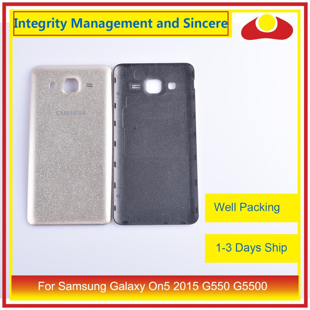 Image 5 - 10Pcs/lot For Samsung Galaxy On5 2015 G550 G550F SM G550FY Housing Battery Door Rear Back Cover Case Chassis Shell-in Mobile Phone Housings & Frames from Cellphones & Telecommunications