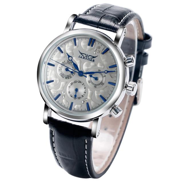 Luxury Casual Dress Business Day Date Week Analog Auto Mechanical Self-wind Men Women Wristwatch Watches relogio masculino