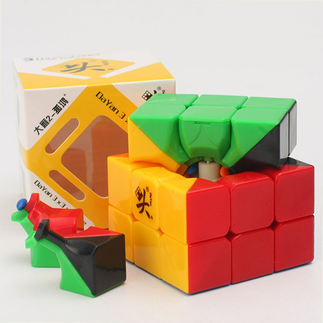 Promo Cheapest Magic Cube puzzle Dayan Guhong 2 V2 57mm 3x3x3 Cubing Speed  Puzzle Cubo Magico Kids Educational Toys 6