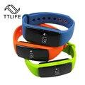Ttlife smart id107 monitor de freqüência cardíaca do bluetooth 4.0 pulseira de fitness rastreador pulseira smartband para iphone/xiaomi mi banda pk 2