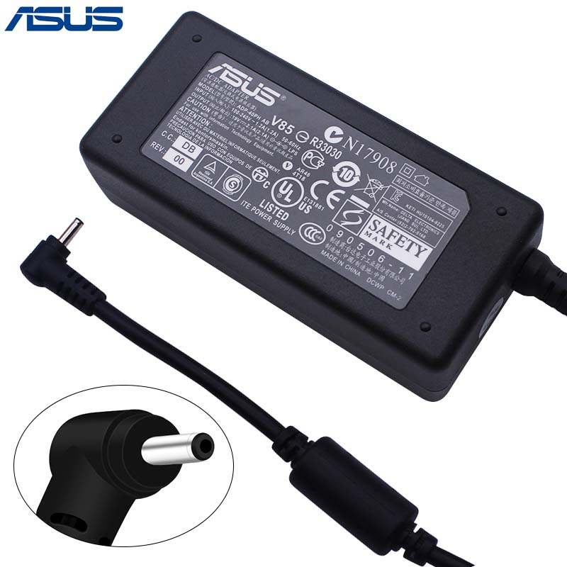 ASUS AC Laptop Power Adapter Travel Charger for Asus 2.5*0.7mm 19V 2.1A 40W ADP-40PH AB Power Supply Charger рукава мультипликация полиэстер для новый macbook pro 13 macbook air 13 дюймов macbook pro 13 дюймов