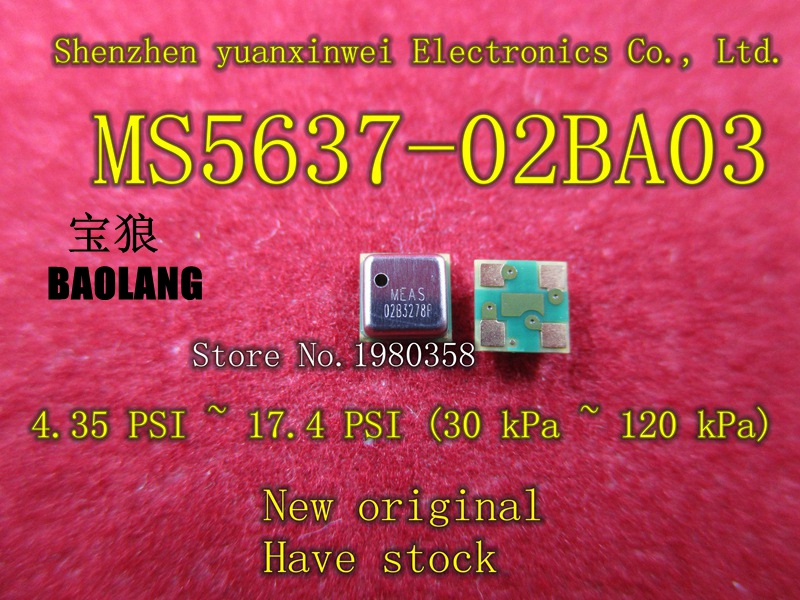 Free shipping 5pcs MS5637-02BA03 MS5637 ensure original