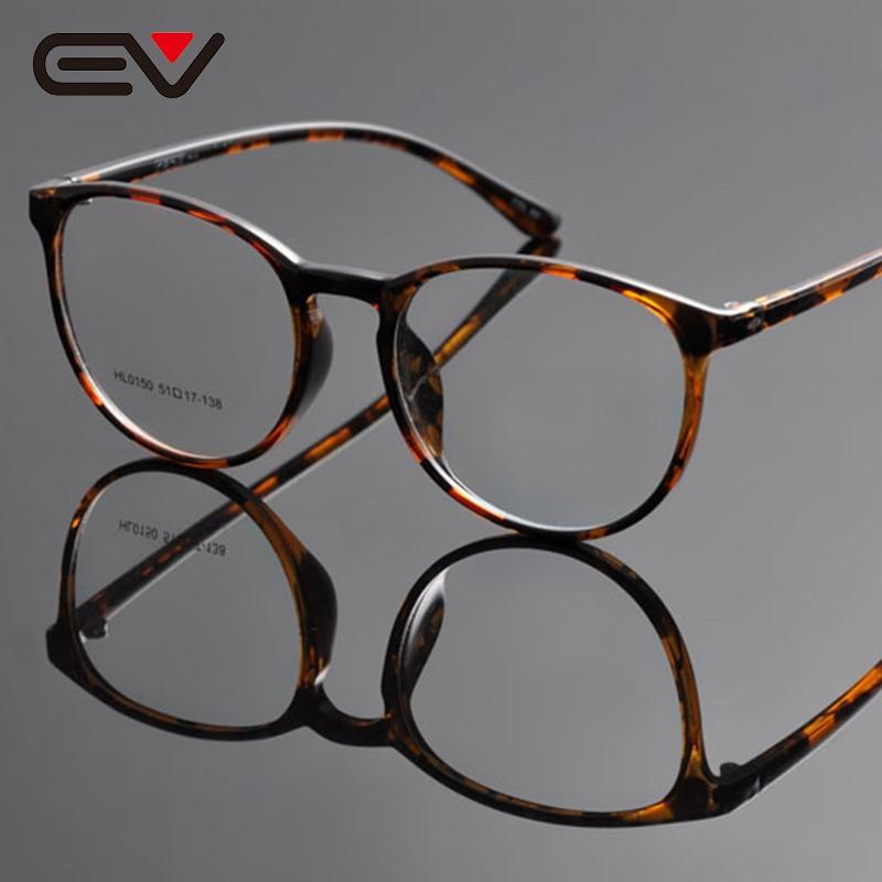 e455ac2737 מסגרות משקפי שמש - New eye glasses frames for women round optical frame  oliver peoples vintage spectacle frames oculos de grau feminino EV1060