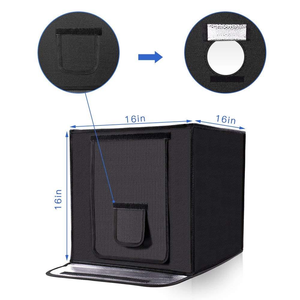 capsaver Portable Photography Studio Opvouwbare Lightbox Softbox LED - Camera en foto - Foto 5