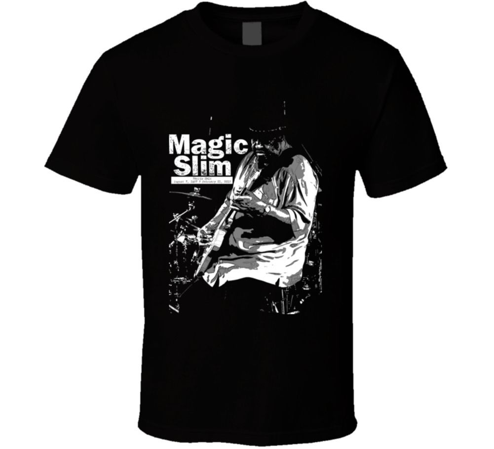Magic Slim Blues Guitarist Chicago RIP legend music fan t shirt Cool Casual pride t shirt men Unisex Fashion tshirt image