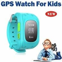 มินิเด็กนาฬิกาQ50 OLEDเด็กGPS Watch SOSฉุกเฉินต่อต้านหายไปสมาร์ทโทรศัพท์มือถือA Ppสร้อยข้อมือสายรัดข้อมือสองทางการสื่อสาร