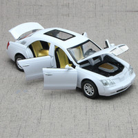 For Maybach Alloy Car Model Light Music Effect Auto Speelgoed Pull Back Six Open Door Design Diecast Model Car Toy Vehicles 1:32