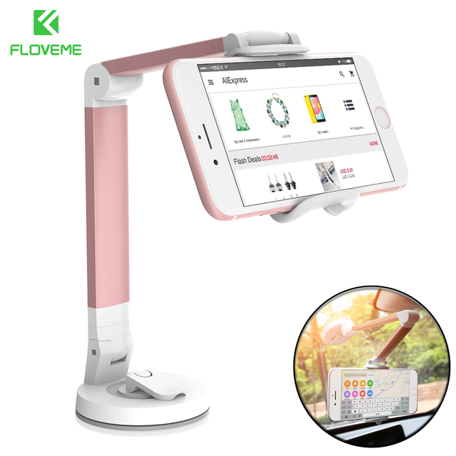 FLOVEME 360 Degree Foldable Rotating Car Phone Holder