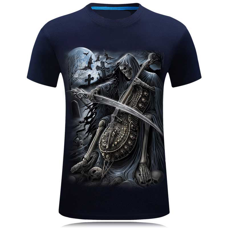 Neue 2017 3d lustige t-shirt männer animal print marke kurzarm - Herrenbekleidung - Foto 5