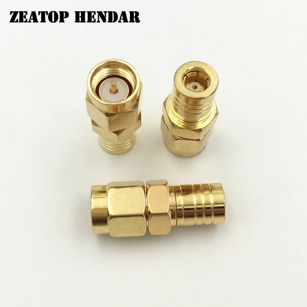 Female Plug Coax-Adapter-Connector Jack-To-Smb Gold-Plated Rf Coaxial Brass 1000pcs Straight