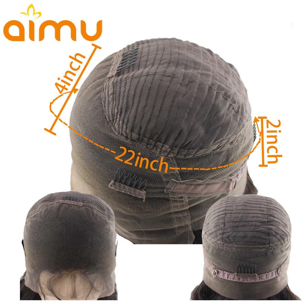 Необработанные индийские волосы влажные и волнистые кудрявые парики глубокая волна Preplucked 360 Кружева Фронтальная натуральные волосы парики с волосами младенца Aimu