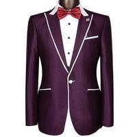 Jacket Pants Men Wedding Tuxedo Suits Plus Size XS 4XL 2015 New Arrival Fashion Business