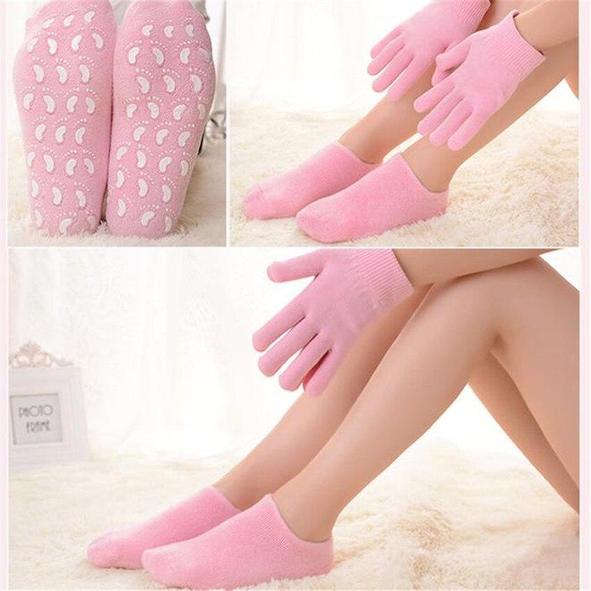 Opakovatelné SPA Gel Ponožky a rukavice Hydratační bělení - Péče o kůži - Fotografie 2