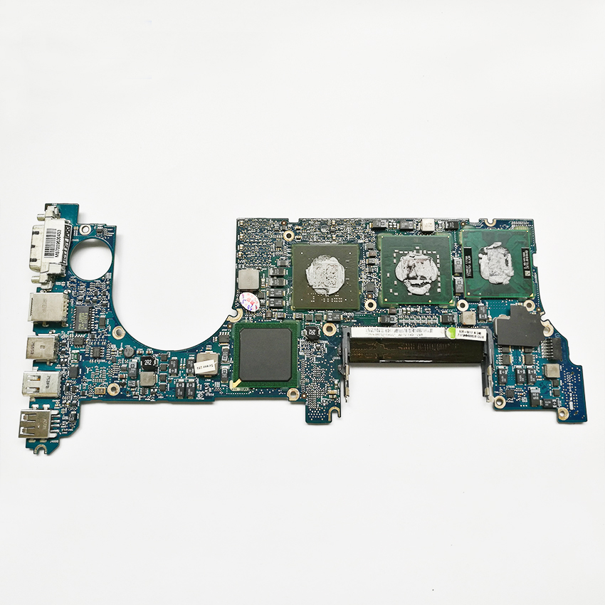 For Macbook Pro 15 A1226 Logic Board Motherboard 2.4GHz T7700 820-2101-A 661-4956 MA896 Mid 2007 631 0347 m40a mlb 820 1900 a oem logic board 1 83 t2400 ghz for m mini a1176 emc 2108 ma608 gma 950 64m