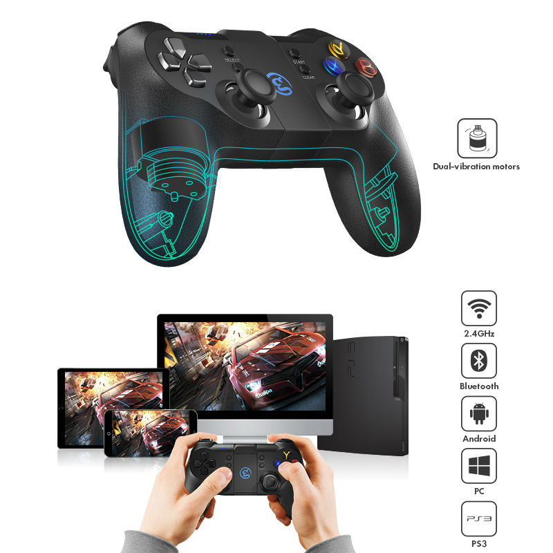 GameSir T1s Bluetooth Wired Game Controller Gamepad for Android ...