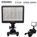 Yongnuo yn140 led de vídeo luz 140led lámpara luces de iluminación fotográfica 3200-6000 k para videocámara cámara dslr photo studio