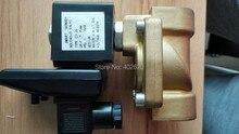 5 шт. pcs/lots электрическая соленоид клапан вода воздушный N / C SLP-25 1 » размер вариант dc12v, Dc24v или ac110v, 2W-25