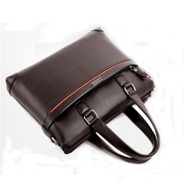 Handbag Men Messenger Bags PU Leather Man Bags Fashion Male Men's Briefcase Man Casual Shoulder Bag 4