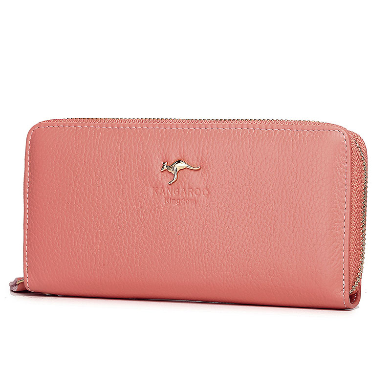 Image 5 - Kangaroo Kingdom Luxury Women Wallets Genuine Leather Pusre Brand Wallet Ladies Clutchwallet ladybrand women walletwomen brand wallet -