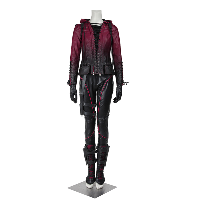 Green Arrow Speedy Thea Queen Cosplay Costume Season 4 Outfit Superhero Halloween Women Coat Clothes Party Custom Made Adult