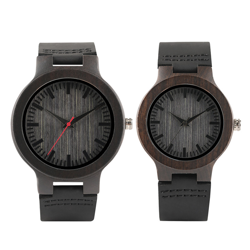 Couple Wrist Watch Casual Wood Watches Women Men Bamboo Quartz Watches Valentines Day Gift YISUYA relogio de madeira