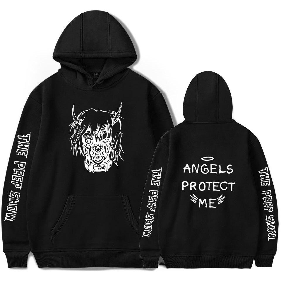 Lo más nuevo Lil Peep R I P Lil Peep LOVE hombres/mujeres sudaderas con  capucha de bolsillo Love Hood Lil  Camisas de ventilador de ropa de hombre  Pop