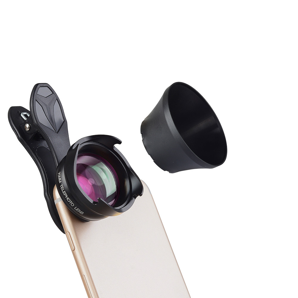 Lens Professional HD 70mm Portrait lens 2.5X Telephoto Camera Phone Lens for iPhone 7s 6/6s SamSung S8 edge Xiaomi 70MM image