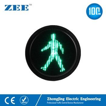 Feu de trafic piéton vert 4 pouces | Mini Signal de trafic, pour homme et homme, Modules de trafic 100mm